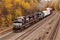 Freight in Fall