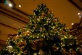 Christmas tree at The Fairmont