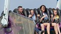 Taken on one of the high g rides at Southport Pleasure Park