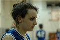 Pensive basketball player