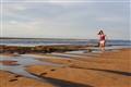 alone on a Bahian beach