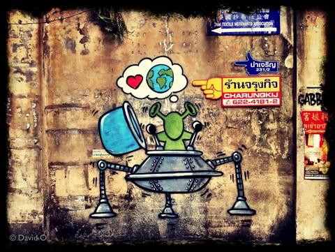 Bangkok Grafitti