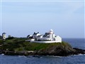 Roche's Point Lighthouse, Cork, Ireland.