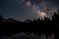 Milky Way over Lassen Peak