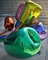 Chrome in colors, by Koons