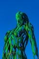 The Voyager a Copper Sculpture-3880
