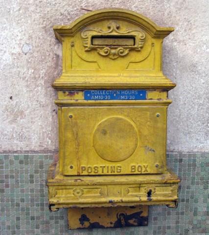 """""""Posting Box"""" in Asmara, Eritrea"""