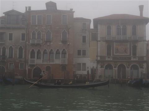 Gondola nebbia