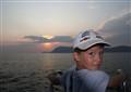 Sunset at black sea