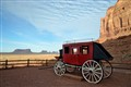Stage Coach at Gouilding's Lodge  in Monument Valley