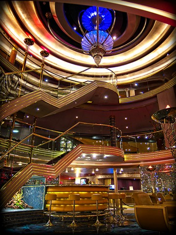 Inside the Cruise liner