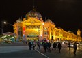 Under the Clocks, Flinders St Station