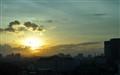 Sunset over Hanoi, Vietnam