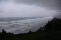 Pacific Ocean in Stormy Weather