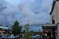 heavy cloud over Blackheath, NSW