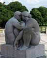 Taken in Vigeland Sculpture Park, Oslo.