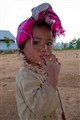 Little girl in the north of laos