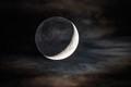 Crescent moon on 5/26/2020