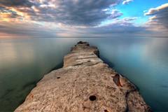 Lake Erie Stone Pier