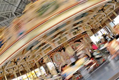 Merry-go-round, Luna Park St. Kilda
