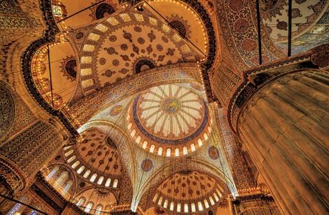 sultan ahmet mosque interior