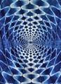 A Vortex in a Carpet