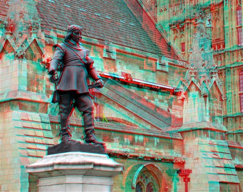 Cromwell Statue 3D