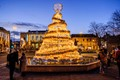 The new year pyramid at Laval France