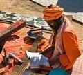 Reading a Prayer, Kathmandu