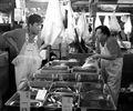 Tokyo fish market scene