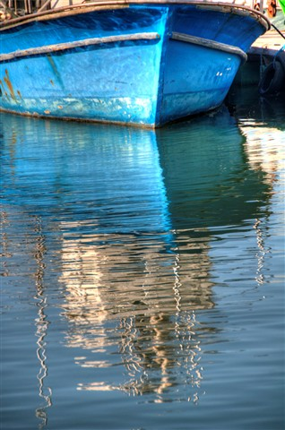 Zen Photography Water jaffa port boat reflec...