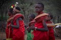 Samburu Girls at the dance