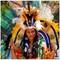 Amazon River village girl, Brazil.