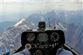 In a Glider over the Alps
