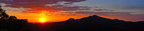 Bill Williams Mountain sunset