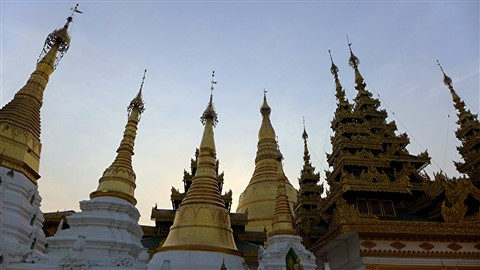 Temples of Shwedagon