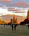 Sunset in Red Square