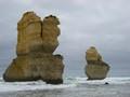 Two Rocky Pillars