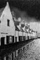 raining day in Bruges