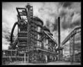 Old ironworks, Ostrava city, Czech Republic