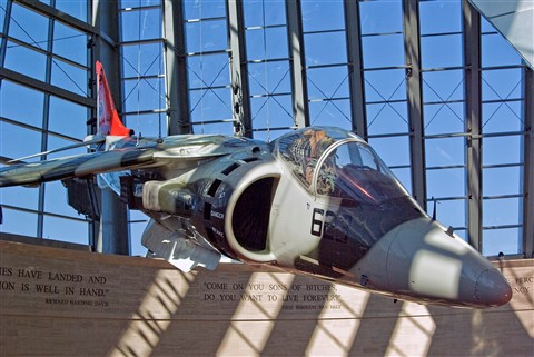 Marine Harrier Museum 0654