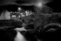 Beddgelert Bridge night