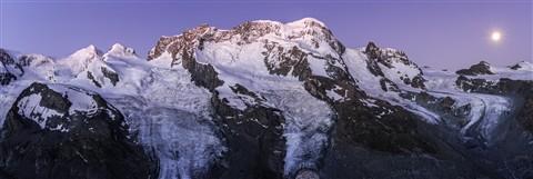 Moonset - Breithorn