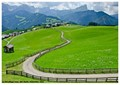 The Road to La Val Village, Alta Badia, Dolomites, Italy
