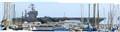 USS Abraham Lincoln at Long Beach Harbor