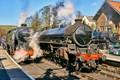 Steam Trains at Grosmont station