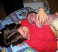 Geburt unserer Tochter