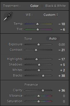 lightroom 5 settings