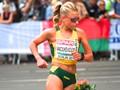 Lithuanian Racewalker European Championships in Berlin