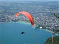 Flying over Annecy ...